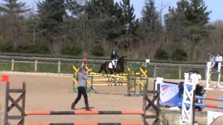 Amandine et Souk Haras - CSO Amateur 2 1m10 - 14/04/13 St Hubert