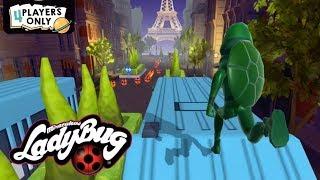 Miraculous Ladybug & Cat Noir #49 | CARAPACE: Slide Under 24 Obstacles!