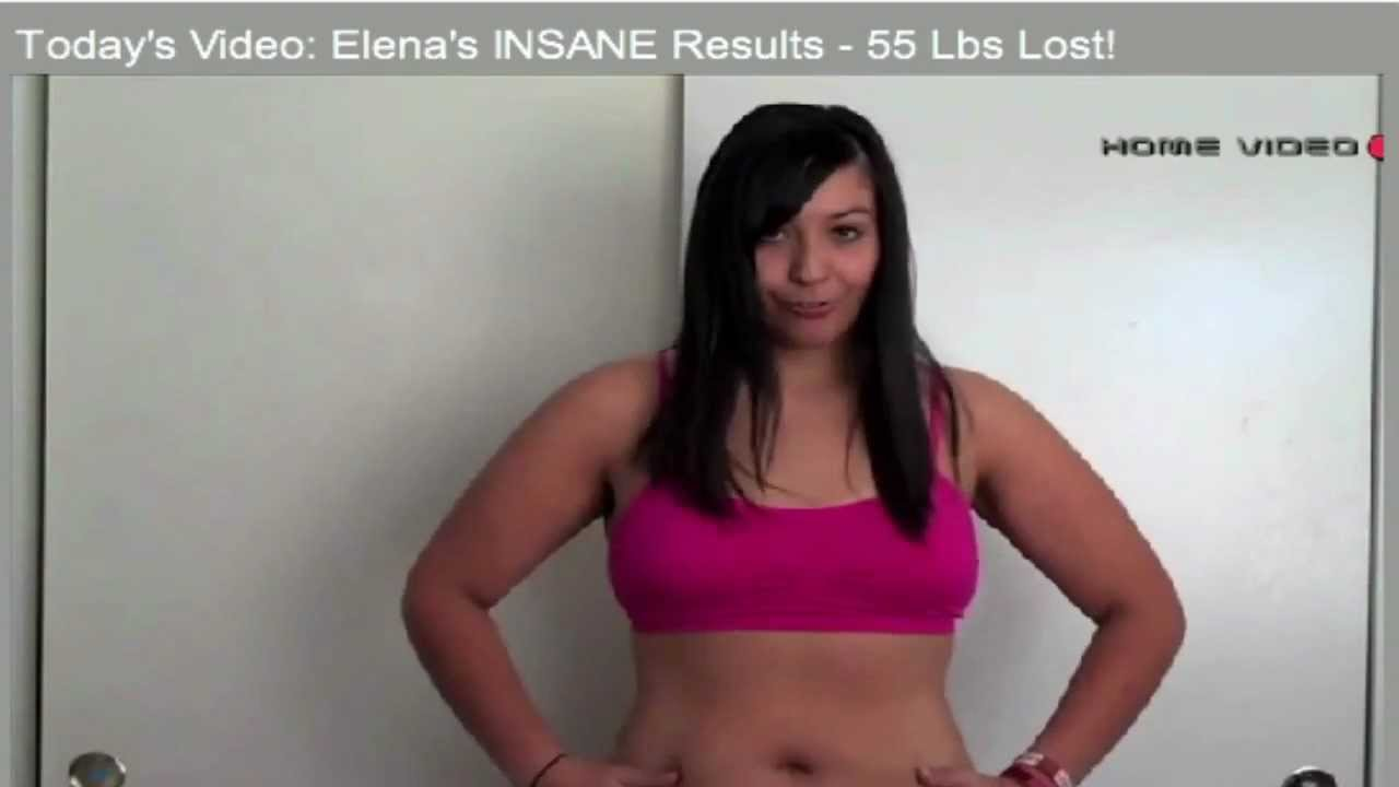 Elena Lost 55lbs  With The Insanity Workout