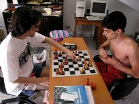 Blinding fast chess game