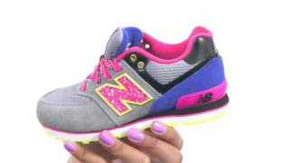 New Balance Kids 574 Outside In (Little Kid) SKU:8598113