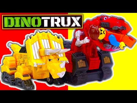 Dinotrux Dinosaur Construction Truck Die Cast Toys Dino Thomas Train