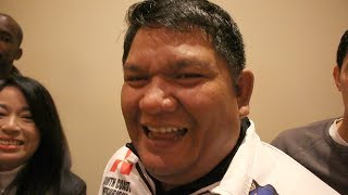 """BUBOY FERNANDEZ LAUGHS AT THURMAN'S LAST FIGHT VS JOSESITO """"THAT'S WHY WE PICKED HIM!"""""""
