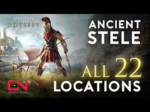 Assassin's Creed Odyssey Ancient Stele Locations - Free Ability Points