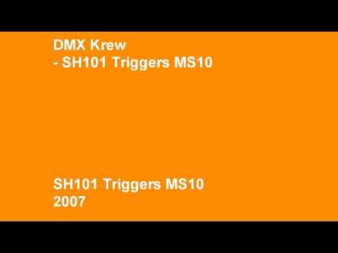 DMX Krew - SH101 Triggers MS10
