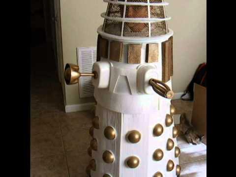 Make Build DIY adult child White Dalek Halloween Comic Con costume & Make Build DIY adult child White Dalek Halloween Comic Con costume ...