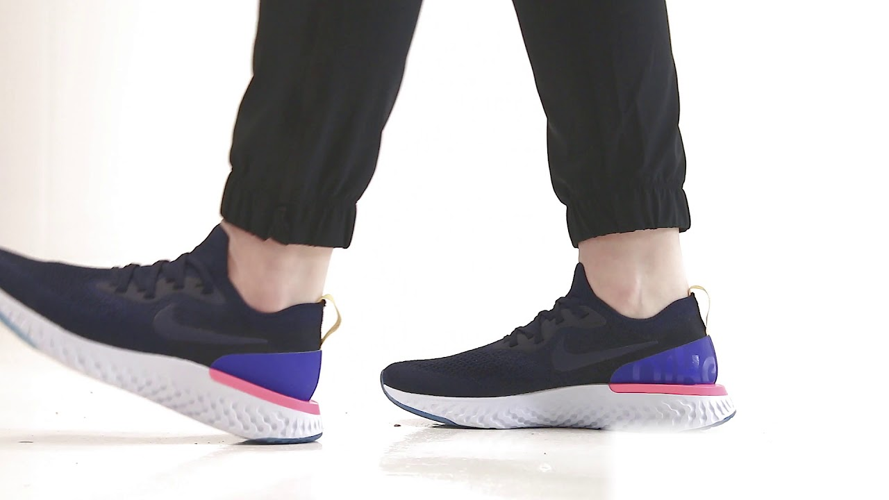 Nike Epic React Flyknit | Bouncy on the
