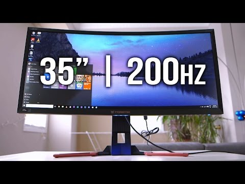 Acer Predator Z35 - Are we ready for 200hz Gaming?