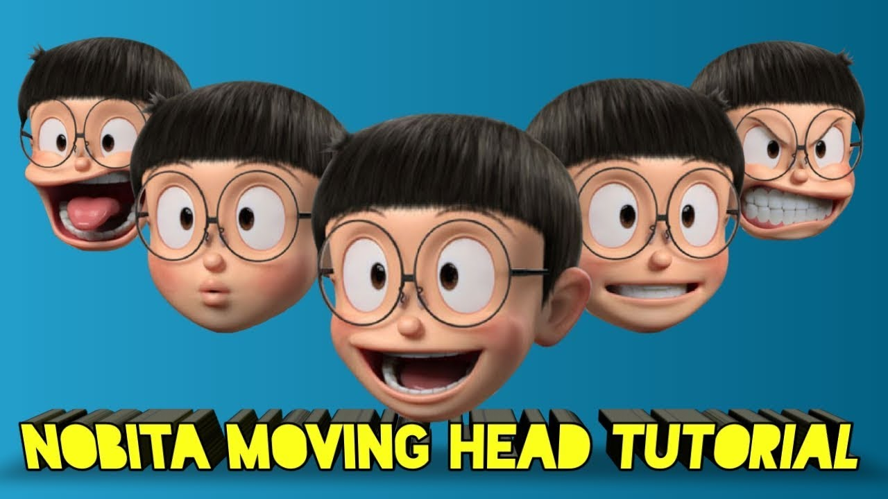 Learn To Edit Moving 3d Nobita Video Using Android Apps Youtube