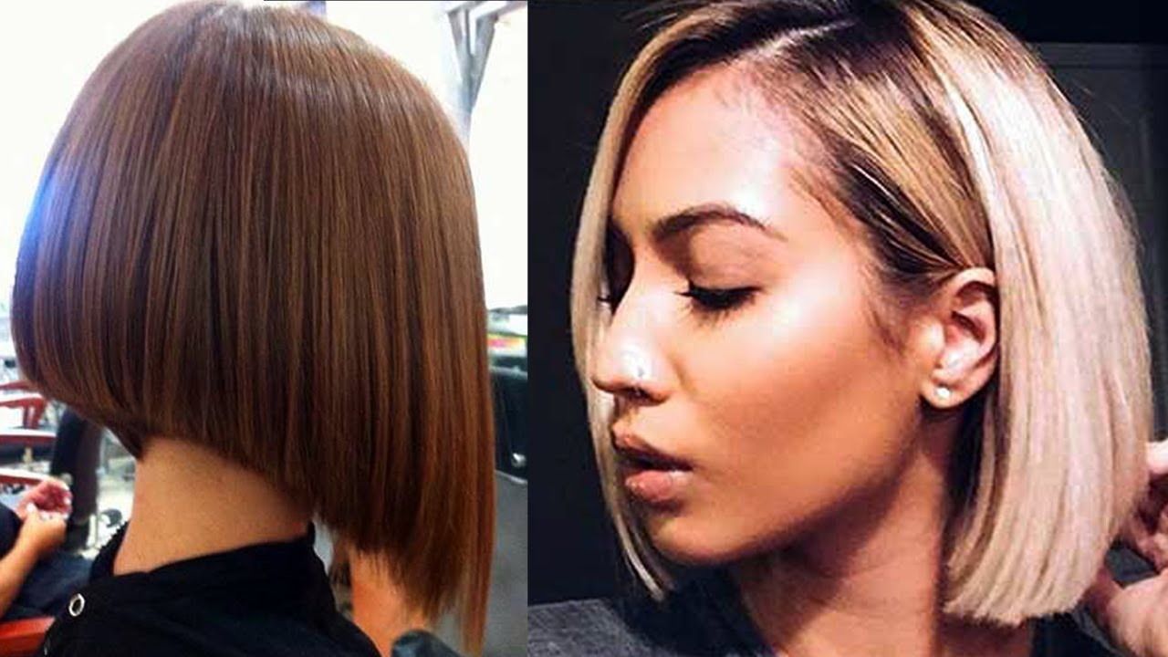 Great Bob Hair Cuts - YouTube