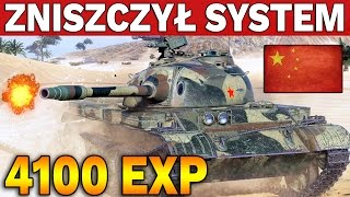 ZNISZCZYŁ SYSTEM - 4100 EXP - World of Tanks