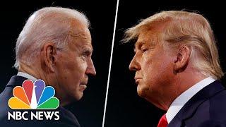Final Presidential Debate Highlights Between Trump And Biden
