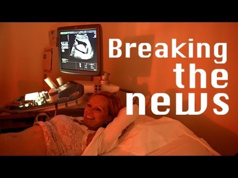 Breaking the news - our pregnancy announcement... - YouTube