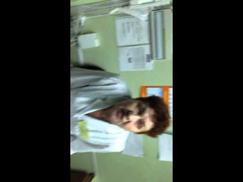 Пьяная врач в детском отделении! - видео онлайн