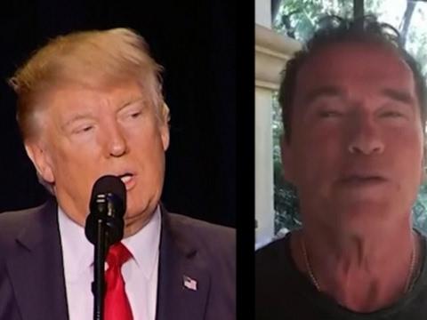 Trump, Schwarzenegger Trade Barbs Over Ratings