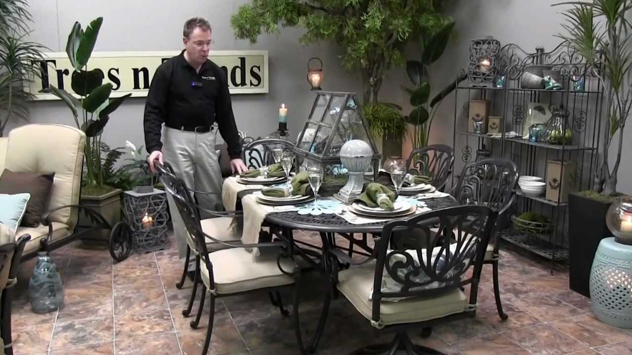 Biscayne Patio Seating And Dining   Trees N Trends   Unique Home Decor    YouTube