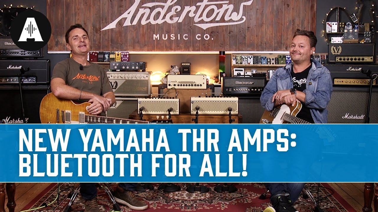 Download YAMAHA THR-II Amps - NEW - BIGGER, BETTER & WIRELESS!