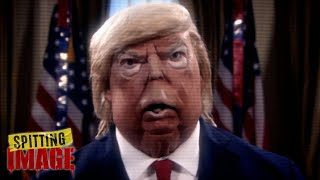 Trump Investigates Election Voter Fraud | Spitting Image