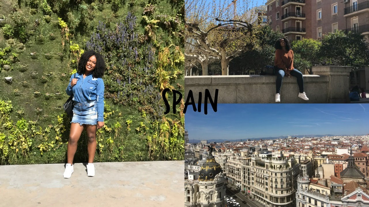 Aja Goes to Spain! Carefree Black Girl Edition ♡ Travel Diary