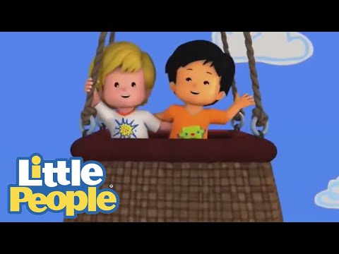 Songs for Children | Little People 🎵 1 HOUR Karaoke with the Little People 🎵 Cartoons for Children