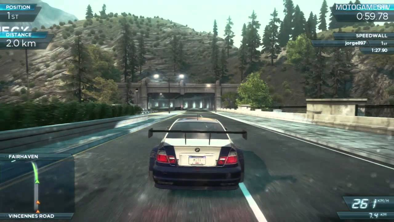 Need For Speed Most Wanted 2012 Bmw M3 Gtr Gameplay Youtube