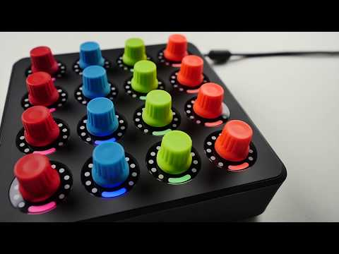 midi fighter twister these are not your average knobs youtube. Black Bedroom Furniture Sets. Home Design Ideas