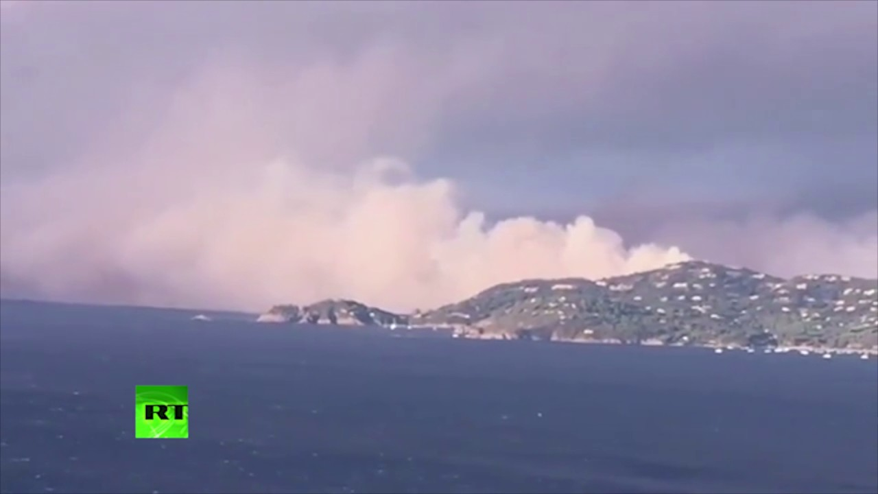 10,000 evacuated as wildfire sweeps Southern France