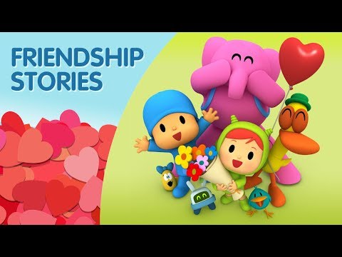 Pocoyo: Friendship Stories | Valentine's Day [30 minutes] HAPPY VALENTINE'S DAY! ❤️