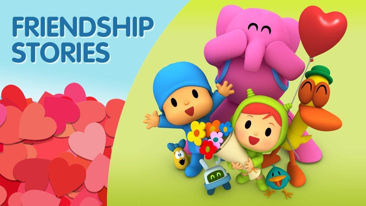 Pocoyo Friendship Stories Valentine S Day 30 Minutes Happy