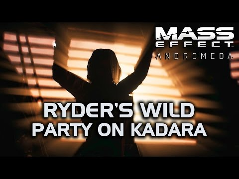 Mass Effect Andromeda - Ryder's Wild Party on Kadara