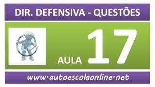 AULA 82 PROVA SIMULADA DIREÇÃO DEFENSIVA - CURSO DE LEGISLAÇÃO DE TRÂNSITO GRÁTIS