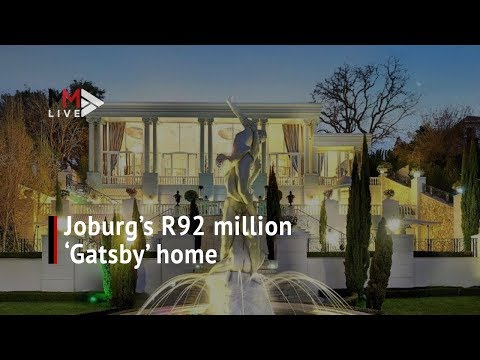 What R92m can get you in Johannesburg: Inside the 'Gatsby' mansion
