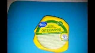 Сыр OLTERMANNI 17% жирности полутвердый