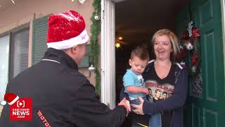 Secret Santa surprises young woman who started Christmas project in honor of her slain mother