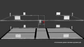 Двухтрубная система двухэтажного дома из полипропилена