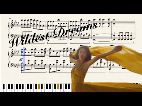 Taylor Swift - Wildest Dreams - Remastered Piano Cover (Based on Little Transcriber)