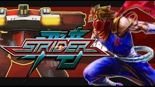 "STRIDER: 2014 Gameplay Walkthrough Part 11 (MECHA-TANK BOSS) HD XBOX ONE PS4 PC ""STRIDER PS4"""