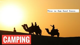 Camping in Jaisalmer - Country Side Resort