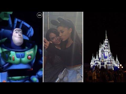 Ariana Grande @ Disneyland Tokyo (FULL VIDEO)