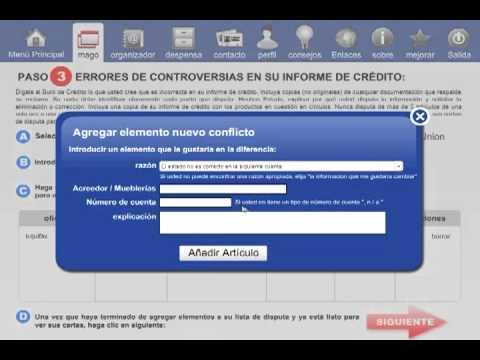 Software de Reparación de Credito - Todos en Espanol - YouTube - photo#44