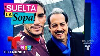 Selección mexicana de fútbol entrena con Los Tigres del Norte | Suelta La Sopa | Entretenimiento