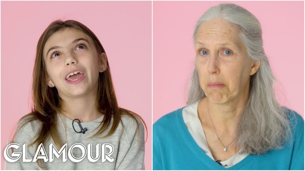 70 Women Ages 5-75 Answer: How Old Do You Feel? | Glamour