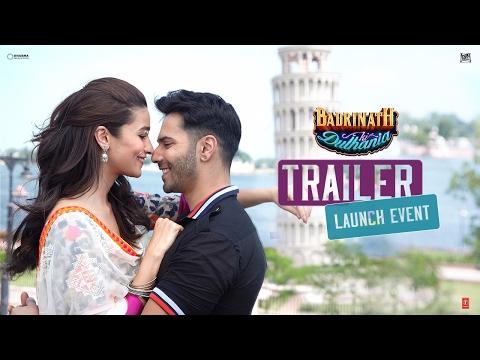 Badrinath Ki Dulhania - Official trailer launch event   Varun Dhawan   Alia Bhatt