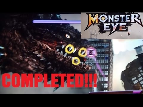 Monster Eye Arcade Game Complete Play Through