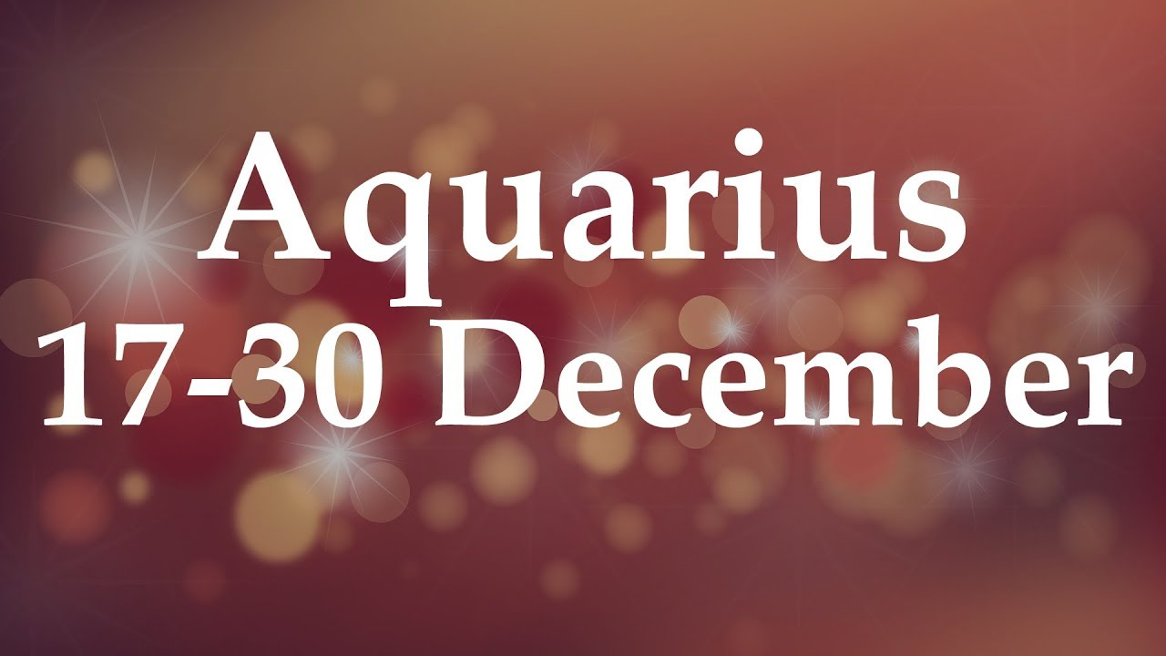 Weekly Love Horoscope Aquarius