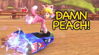 Hold Up Peach! [mario Kart 8]