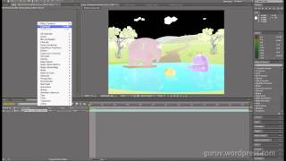 OpenEXR Workflow in Maya and After Effects CS5