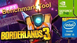 Borderlands 3 (GT 740M/GT 825M/GT 920M) [Benchmark Tool]