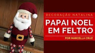 Papai Noel em Feltro – Decoração