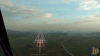 PilotCAM into Zurich Rwy 14